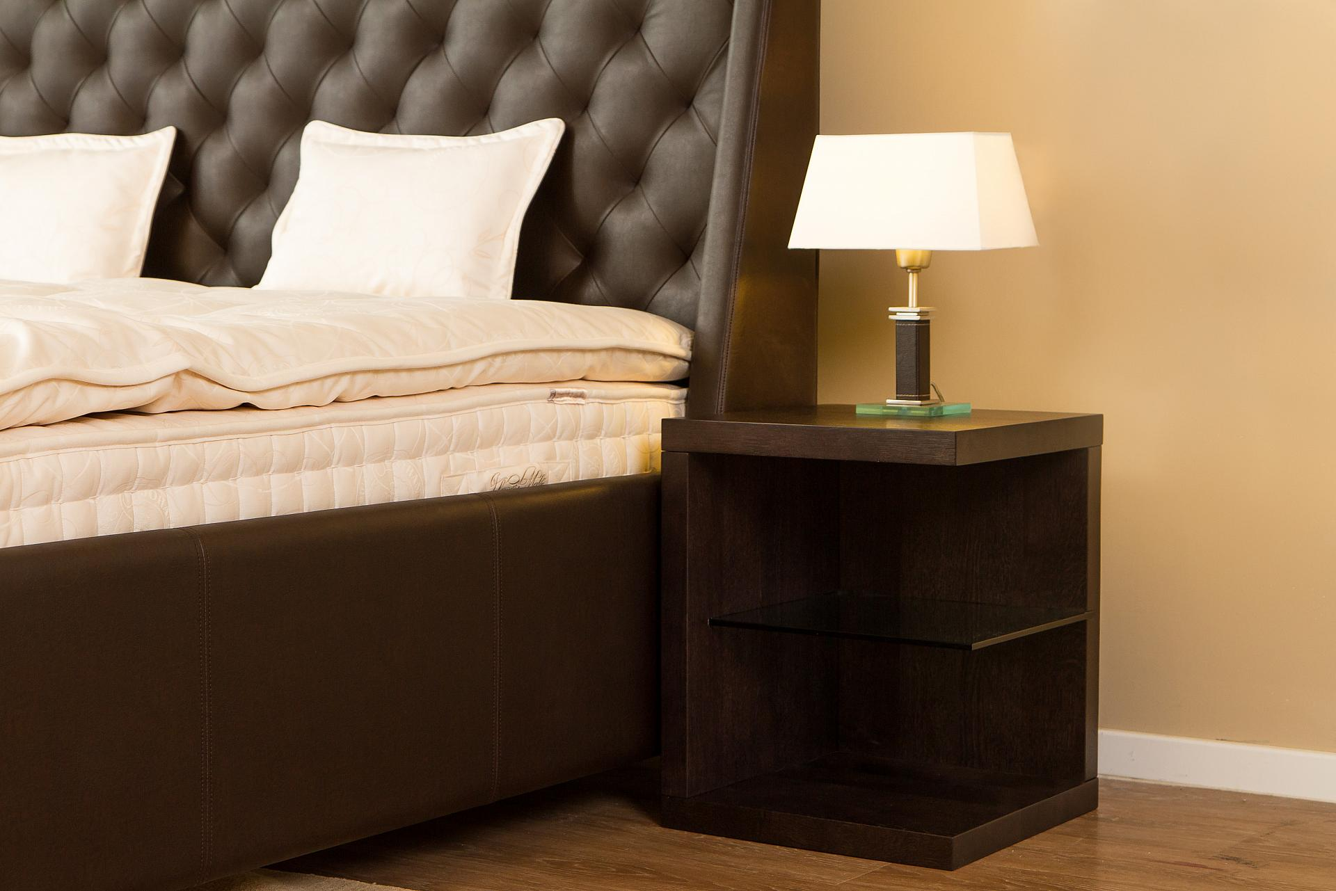 Bedsides table - ash black